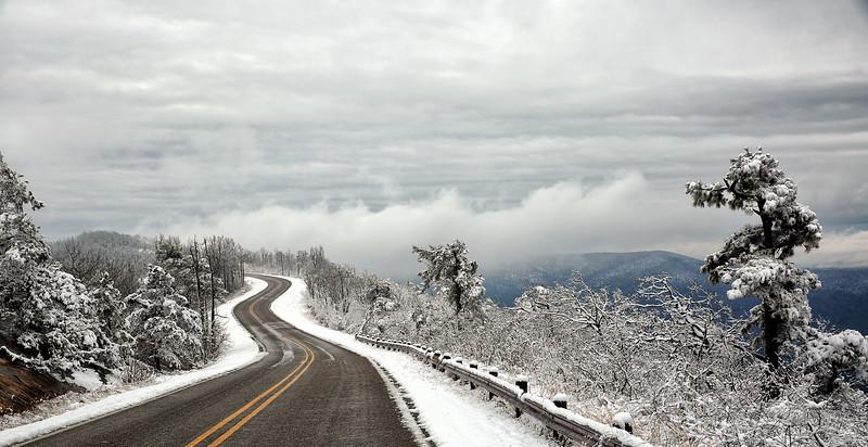 Winter Drive - Queen Wilhelmina State Park - Jan 22, 2015