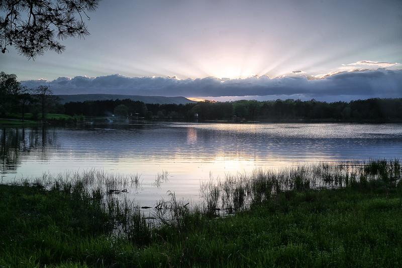 On the Seventh Day - Lake Wilhelmina - Mena, Arkansas - Spring 2014
