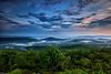 Fog On the Mountain - Queen Wilhelmina State Park