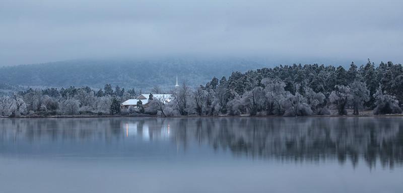 Christmas Snowfall - Ouachitas