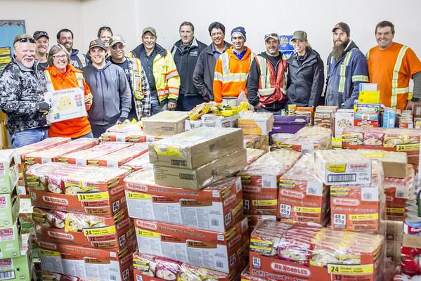 2012-10-03 Food  Bank Donation
