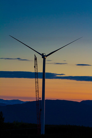 Sunset First Turbine