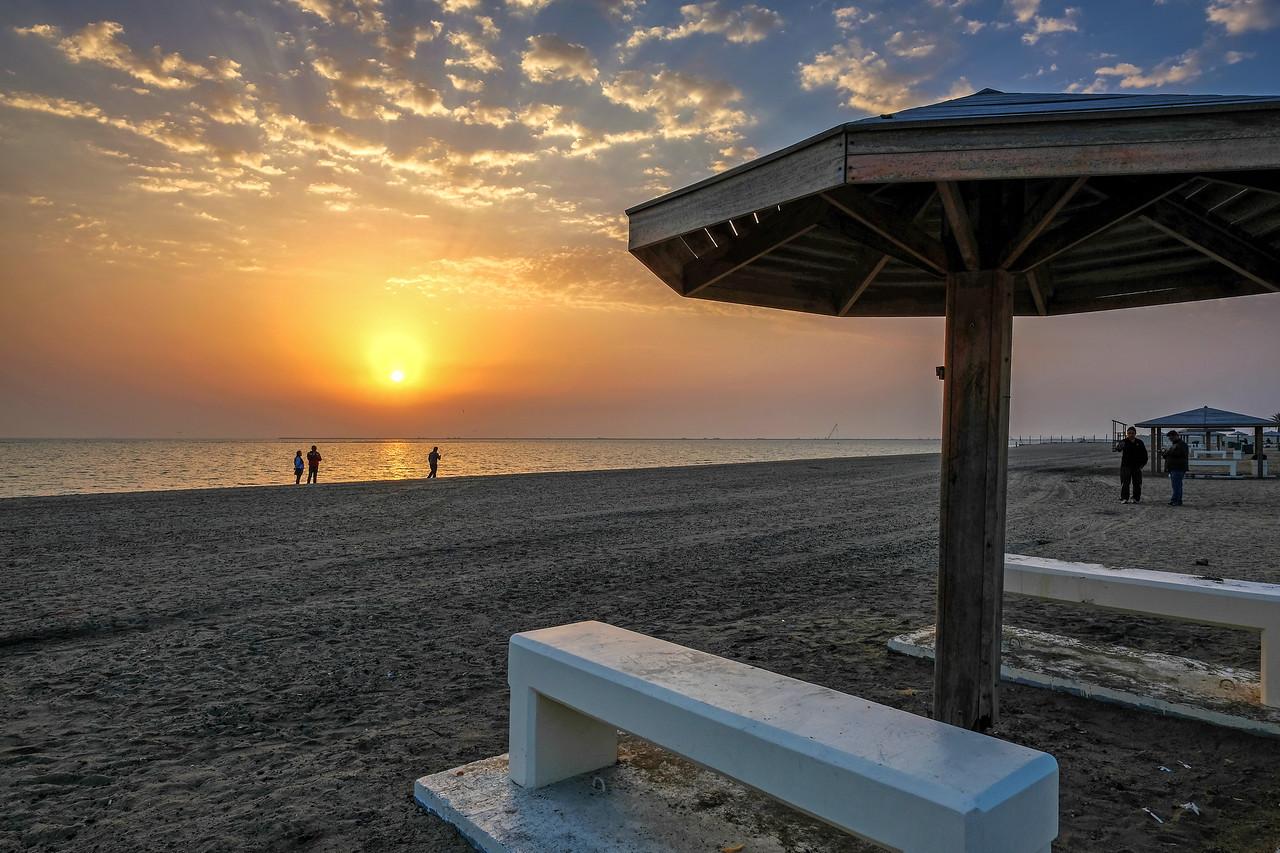 Wakrah Beach Early Morning