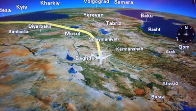 Enroute to Doha