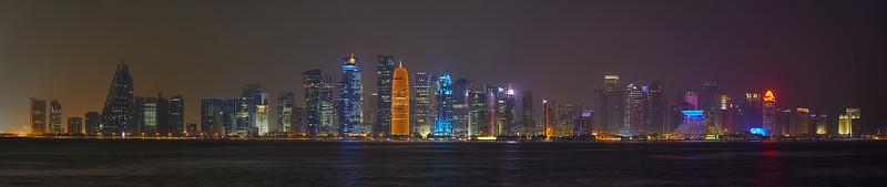 Panorama of Doha