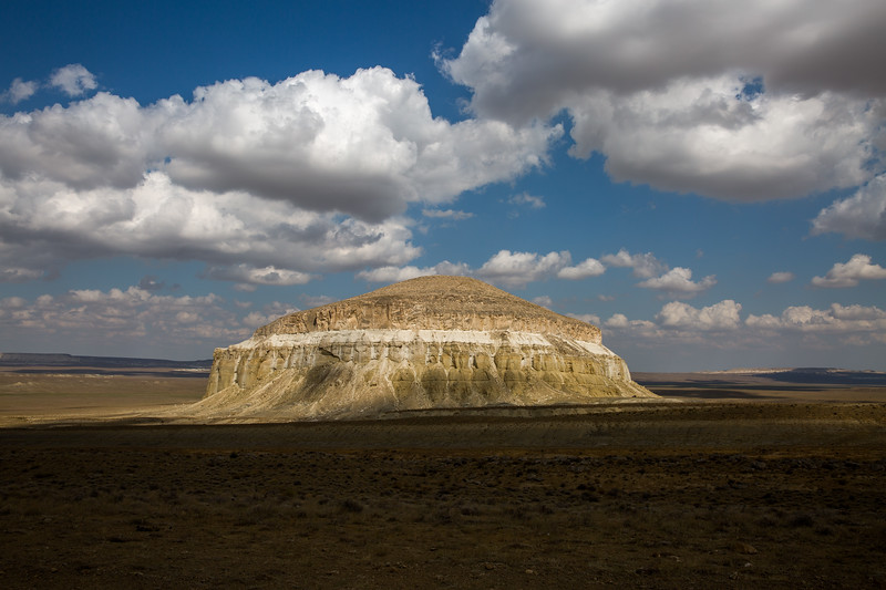 Unknown Peak in the Caspian Sea basin, Kazakhstan