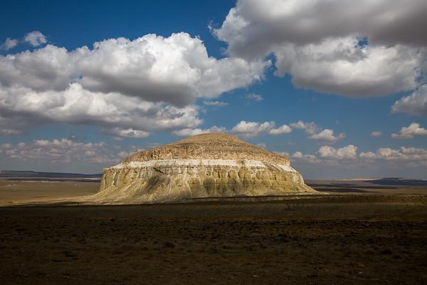 Unknown Peak in the Caspian Sea basin, Kazakhstan