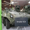 This Stryker ICV was on display the Waltham-based robot-developing company QinetiQ's ribbon cutting ceremony at their new facility on Devens Tuesday, August 27.2019. SENTINEL & ENTERPRISE/JOHN LOVE