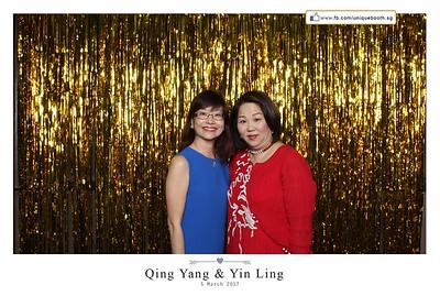 Qing Yang + Yin Ling Photobooth Album