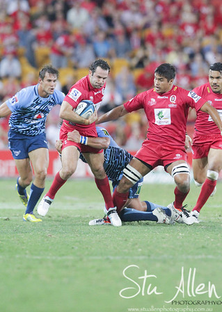 Reds v Bulls Super rugby March 23rd 2012 at suncorp stadium