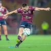 James O`connor,kicking a penalty