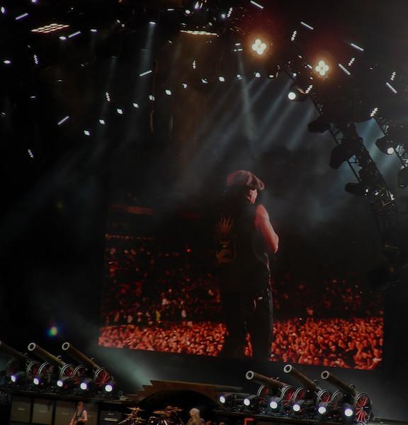 """We Salute You""<br /> <br /> AC DC<br /> Brian Johnson<br /> <br /> August 26,2009<br /> Commonwealth Stadium<br /> Edmonton, Alberta"