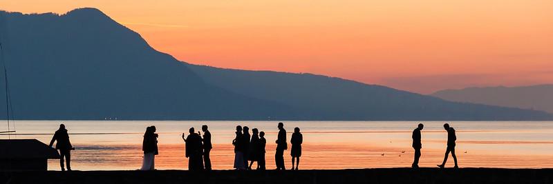 wedding genova lake, tour de Peilz, lac léman------------ 1