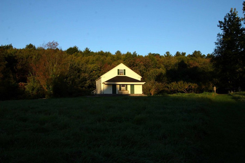 Same morning, and light, but from further down the hill near the Saltbox.