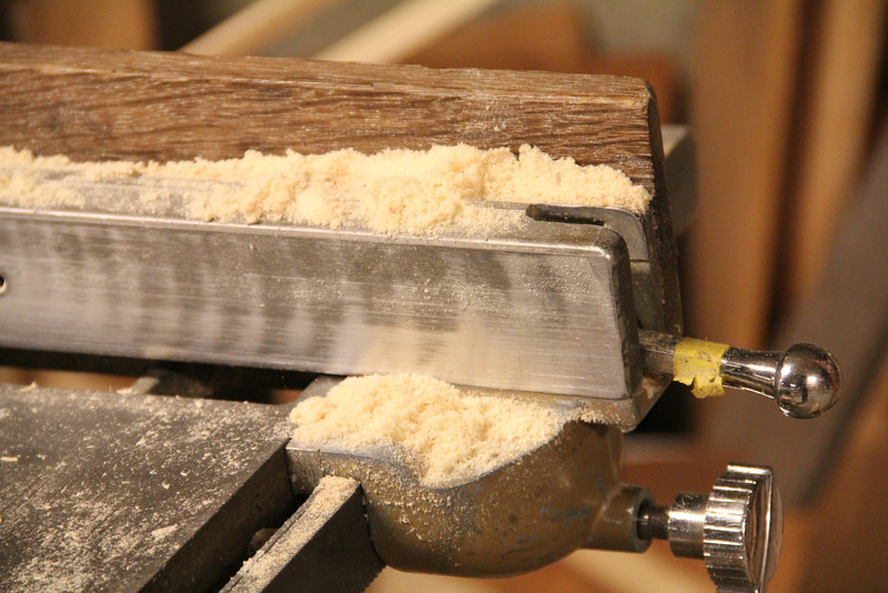 Taken at the table saw in the workshop that is below the meetinghouse.