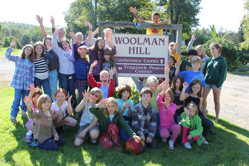 Ambassadors of welcome at Woolman Hill!