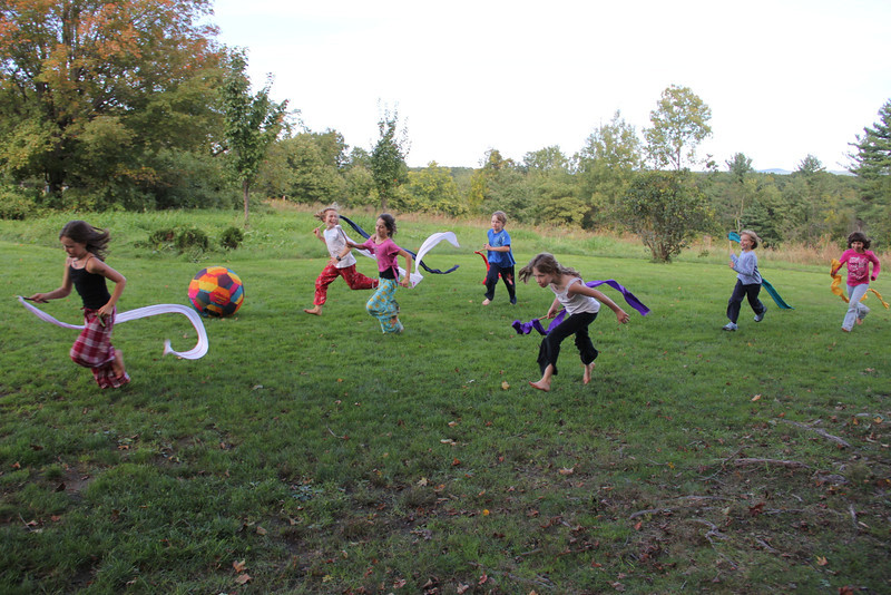 Children bring their energy, of course, and the Hill brings the rest!