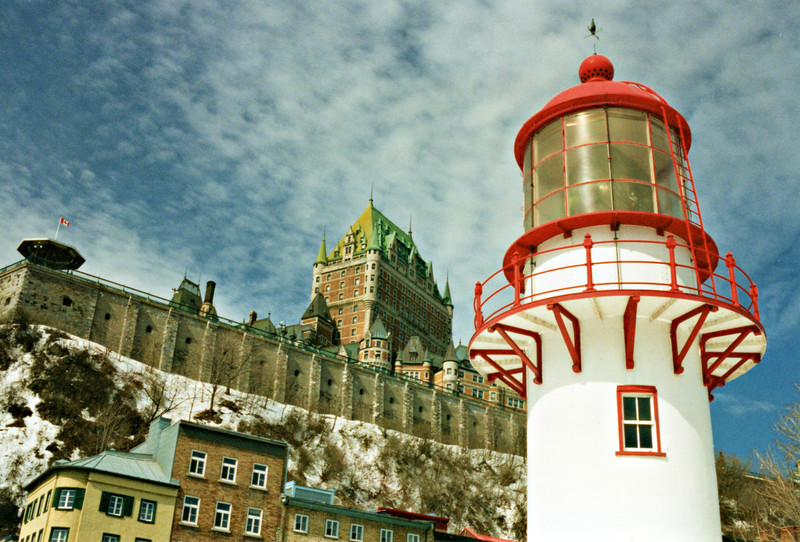 The first Keeper of the light was James Ascah who served until 1913.  Members of the Ascah family continued to serve at the isolated station until 1943.  In 1903 the tower was painted red to help it stand out against the snow in winter and the trees during the summer.  In 1904 the site was chosen by Guglielmo Marconi to erect the first maritime wireless radio station in North America.  This led to additional families residing at the Pointe and the formation of a small community along with the seasonal fisherman who set up camps near the light.