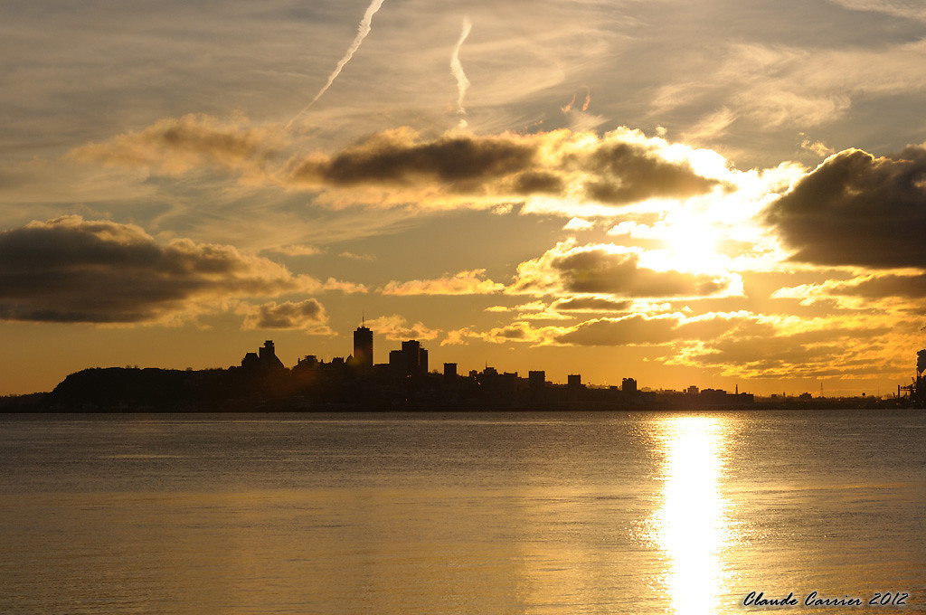 Coucher soleil Québec