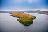 Lac Sacacomie, Quebec, Canada