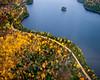 Aerial View, Sacacomie, Quebec, Canada