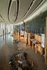 Interior exhibit hall of the Museum of Civilization in Hull, Quebec, Canada.