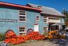A farm barn on the island of Ile d'Orleans, Quebec, Canada.
