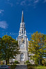 The Saint Patrice Church at Magog, Eastern Townships, Quebec, Canada.
