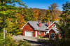 A mountain home in Mont-Tremblant, Quebec, Canada.