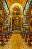 The Notre Dame Basilica Chapel of the Sacred Heart in Montreal, Quebec, Canada.
