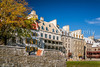 The historic buildings of Lower Town in Old Quebec, Quebec City, Quebec, Canada.