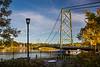 The bridge at Grand- Mere, Quebec, Canada.