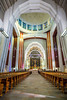 The Saint Joseph's Oratory churchmain sanctuary interior on Westmount Summit, Montreal, Quebec, Canada.