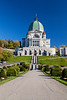 The Saint Joseph's Oratory church and gardens on Westmount Summit, Montreal, Quebec, Canada.