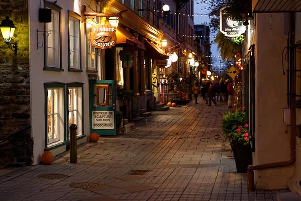 Sights around Old Quebec City......