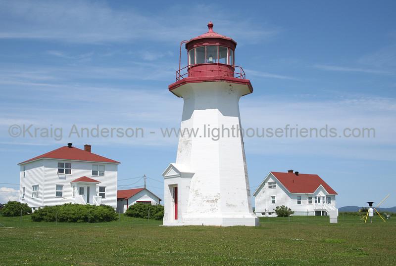 Cap d'Espoir Lighthouse Quebec Canada Gaspe Peninsula