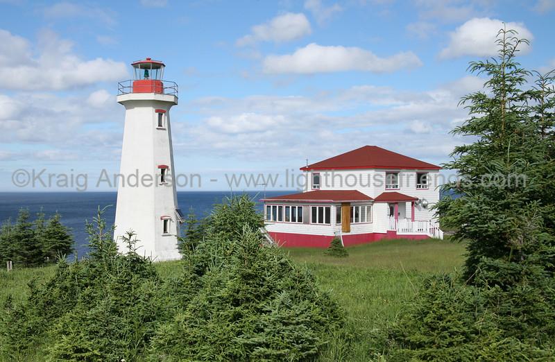 Pointe Carleton  Lighthouse