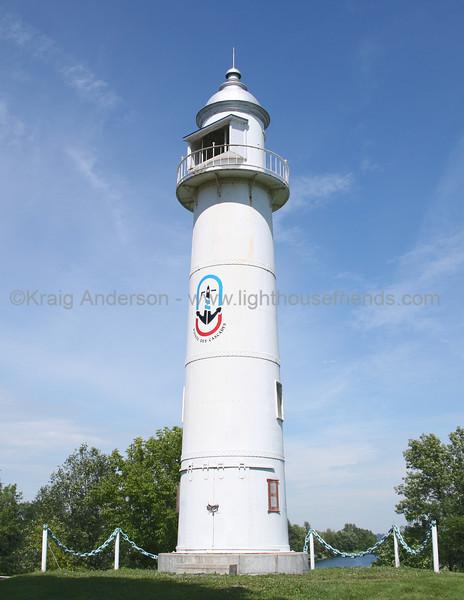 Soulanges Canal Lower Entrance Range Rear Lighthouse