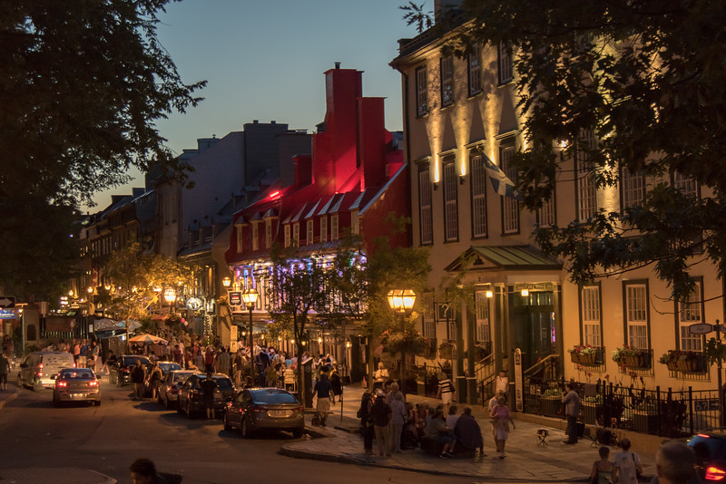 Evening in Old Quebec