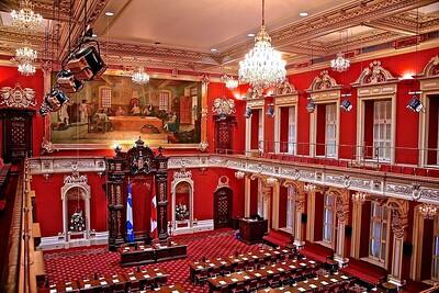 Legislative Council of Quebec in the Provincial Capital  Building