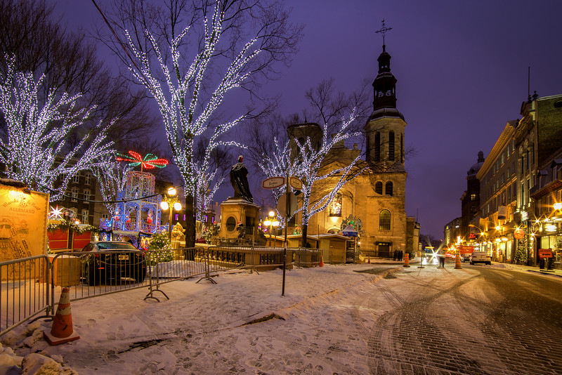 Christmas Lights, Quebec City