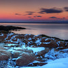 Snow Covered Rocks, Port Au Persil