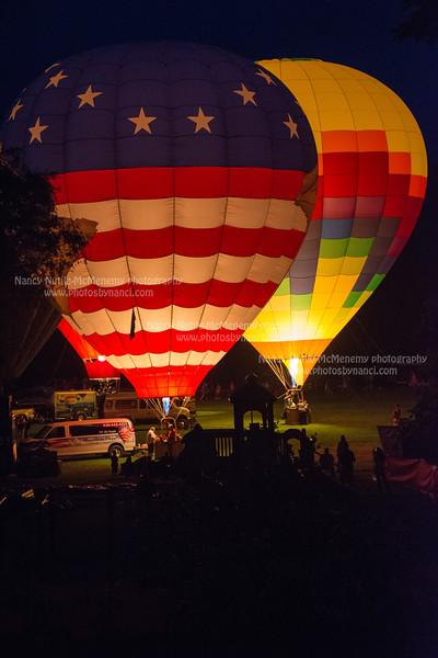 Saturday Night Balloon Glow