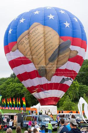 Sunday Morning Balloon Ride