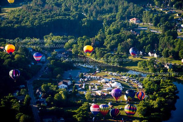 37th Annual Quechee Balloon Festival-Aerials