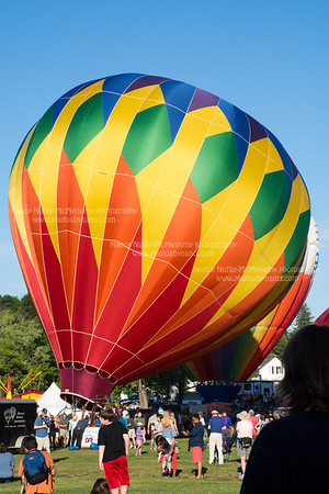37th Annual Quechee Balloon Festival-Evening Liftoff and Glow