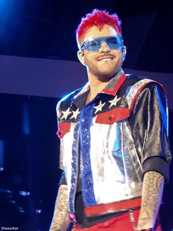 Queen + Adam Lambert, Hollywood Bowl 1, 6-26-17