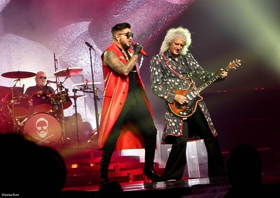 Queen + Adam Lambert, London, Wembley, 7-1-18