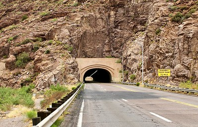East end of the Queen Creek Tunnel (2018)