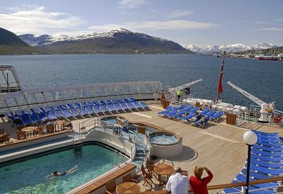 Queen Elizabeth 2 cruise, 2008